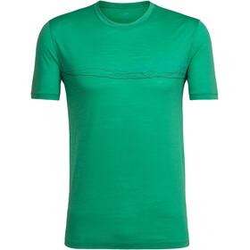 Icebreaker Spector Waterline - T-shirt manches courtes Homme - vert